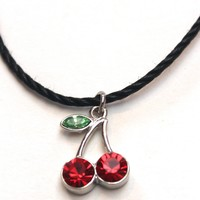 Cherry Bomb Choker Necklace