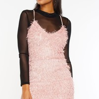 Icon Dress - Blush