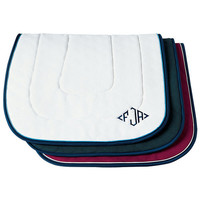 Dover's Custom Competition Saddle Pad with Trim and Piping | Dover Saddlery