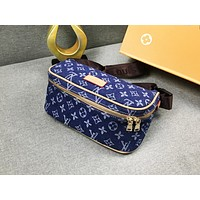 LV hot selling ladies' make-up bag fashionable printed shopping shoulder bag #3