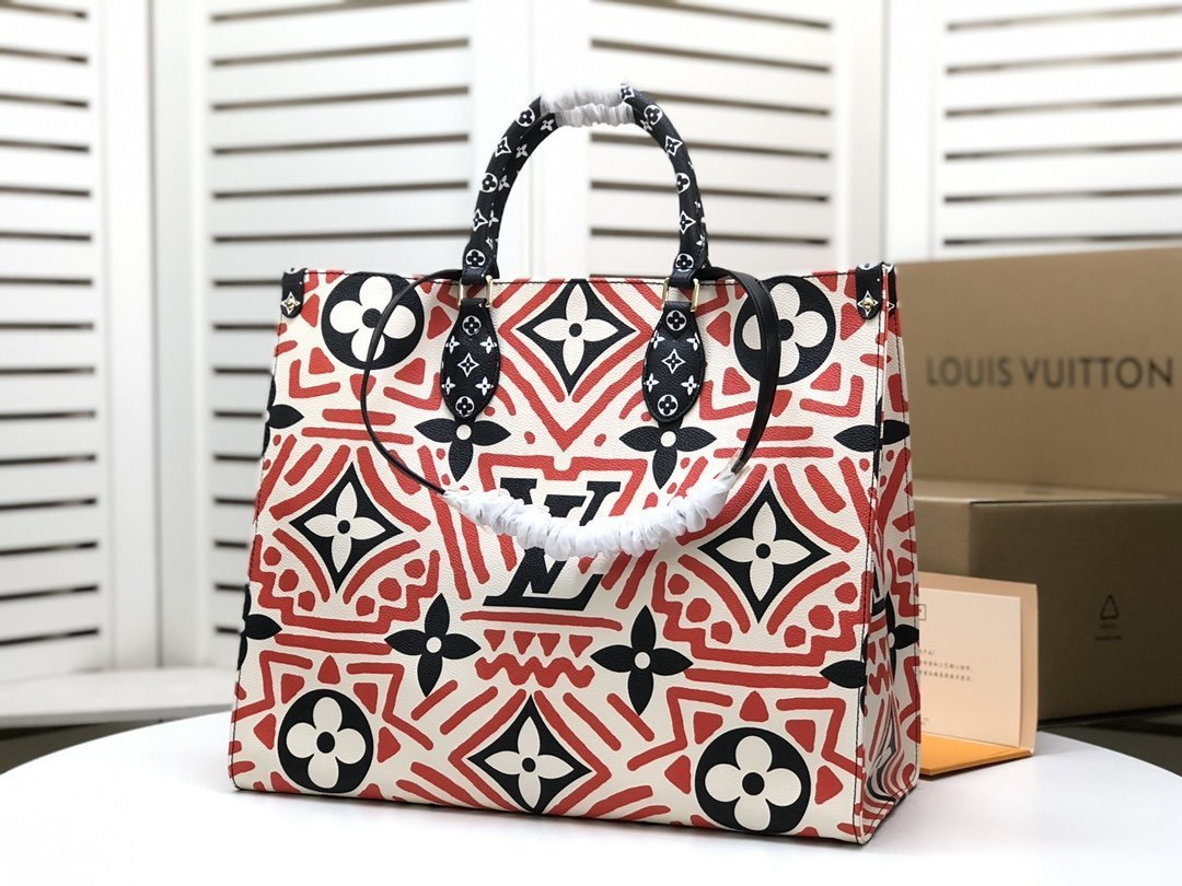 Image of lv louis vuitton women leather shoulder bags satchel tote bag handbag shopping leather tote crossbody 306