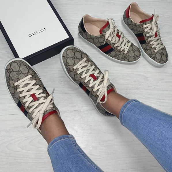 Image of GUCCI NEW WOMEN'S CASUAL SHOES