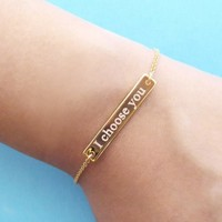 Personalized, Initials, Slim bar, Gold, Silver, Rose gold, Bracelet/ Anklet, Birthday, Friendship, Mom, Sister, Gift, Jewelry