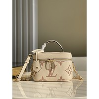 LV Louis Vuitton M45599 WOMEN'S LEATHER Vanity MINI Giant Monogram SHOULDER BAG
