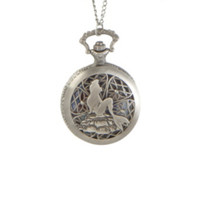 Disney The Little Mermaid Pocket Watch Necklace