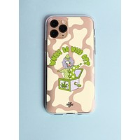 Where The Weed At Clear Phone Case