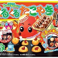 DIY Candy Kracie Pancake Kurukuru Takoyaki making kit Japanese snack