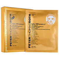 Un-Wrinkle™ 24k Gold Intense Wrinkle Sheet Mask - Peter Thomas Roth | Sephora