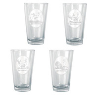 Browning Animals Pint Glass Set (4pk)