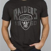 NFL Oakland Raiders Kick Off Tee T-Shirt by Junk Food