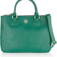 Tory Burch Robinson textured-leather tote NET-A-PORTER.COM