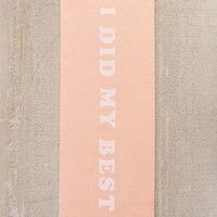 ban.do I Did My Best Yoga Mat   Urban Outfitters