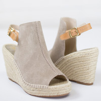 Charismatic Suede Wedge