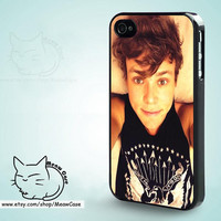 Ashton Irwin 5 Seconds of Summer iPhone 5 Case,iPhone 5S Case,iPhone 4S Case, iPhone 4 Case,iPhone Case - case color black,white,clear