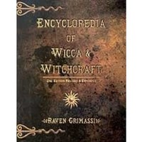 Encyclopedia of Wicca and Witchcraft Book by Raven Grimassi  shipping included
