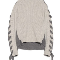 Fashion Loose Two color  Knitwear