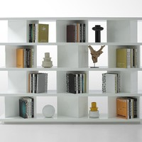 Modern White Display Unit