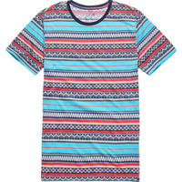 On The Byas Wiz 2 Printed Crew Tee at PacSun.com