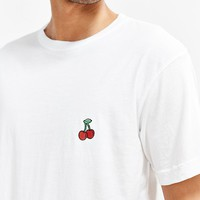 Embroidered Cherry Tee