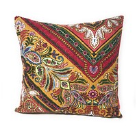 Tache Red Floral Hanging Gardens Cushion Cover 2-Pieces (HS3148)