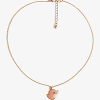 Lacquered Bird Necklace