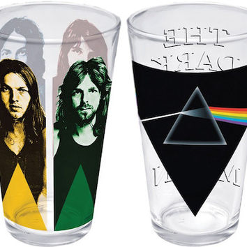Pink Floyd - Band and Album - 2 Pint Glass Set
