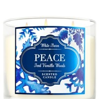 3-Wick Candle Iced Vanilla Woods