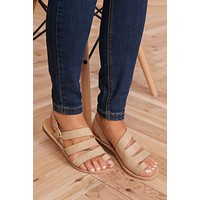 Strappy Perfection Sandals (Light Taupe)