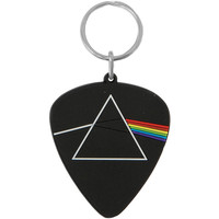 Pink Floyd Dark Side Plectrum Rubber Key Chain Black
