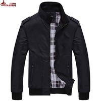 Trendy UNCO&BOROR Spring fall Men Casual Jacket baseball jaqueta masculine Man College Jacket Hommes outwear Bomber Jackets & coats AT_94_13