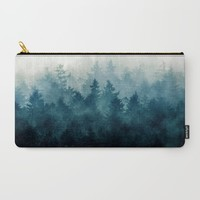 The Heart Of My Heart // So Far From Home Edit Carry-All Pouch by Tordis Kayma | Society6