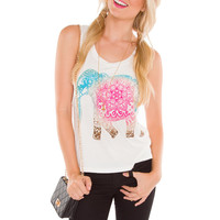 Jeri Elephant Top