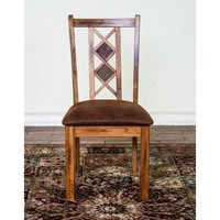 Sunny Designs Sedona Slat Back Side Chair In Rustic Oak