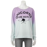 Freeze ''Unicorns Are Real'' Ombre Top - Juniors