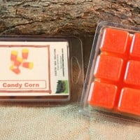 Candy Corn Wax Tarts, Fall Scented Wax Melts, Apple Cinnamon Scented Candle Wax