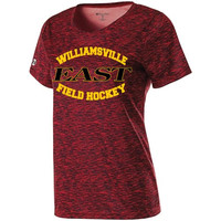 Williamsville East HS Field Hockey SS Space Dye Ladies Shirt
