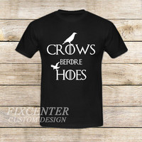 2 Crows Game Of Thrones on T shirt