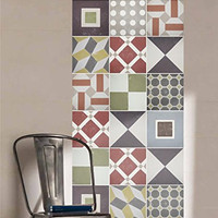 Sintra Portuguese Tiles Stickers (Pack with 48)