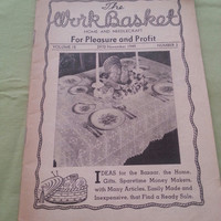 The Work Basket Home and Needle Craft for Pleasure and Profit Volume 15 (2970) November 1949 Number 2