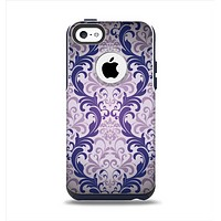 The Royal Purple Laced Wallpaper Apple iPhone 5c Otterbox Commuter Case Skin Set