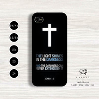 iPhone 5/5s, 5c, 4/4s & Samsung Galaxy S4, S3 Cases   Quotes / God / Jesus / Bible / Love / Faith / Hope / Christian iPhone 5 Case