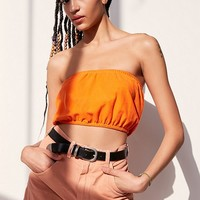 Urban Renewal Remade Polo Tube Top | Urban Outfitters