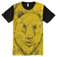 Bear T-shirt All-Over Print T-shirt