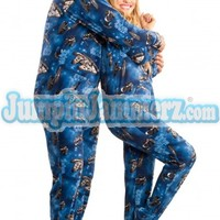 Star Wars Footie Pajamas - Onesuits for Adults