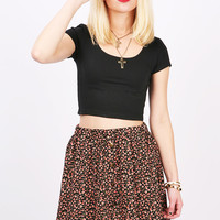Color Palette Crop Top   Basic Tops at Pink Ice