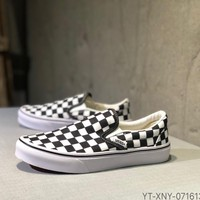Kuyou Fa219722 Vans Classic Slip-on Low Top Shoes Sneakers