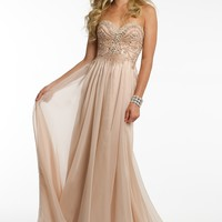 Heavy Burst Beaded Dress from Camille La Vie and Group USA