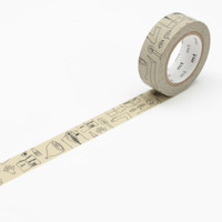 mt x Olle Eksell Washi Tape Single Olle's Notebook