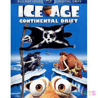 ICE AGE 4-CONTINENTAL DRIFT (BLU-RAY/DVD/DC/FAMILY ICONS O-RING) NLA