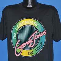 90s The Legendary George Jones On Tour t-shirt Large